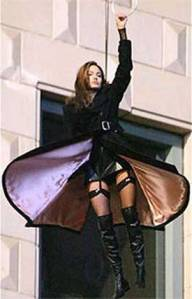 Angelina Jolie in Boots