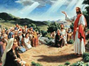 Photo of Jesus' Sermon on the Mount