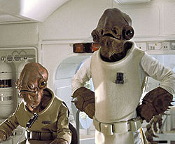 Photo of Admiral Ackbar