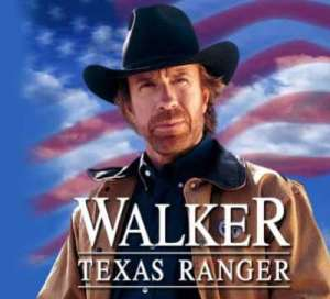 Photo of Chuck Norris, Texas Ranger