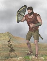 Photo of Goliath beating David