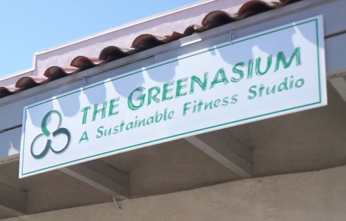 Photo of Greenasium sign