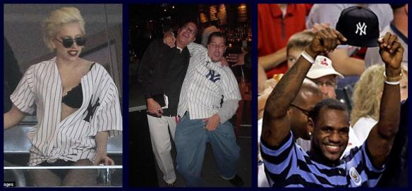 Photos of annoying Yankee fans