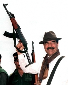 Photo of NPR listener Saddam Hussein
