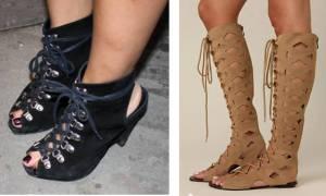 Photos of hideous sandal boots