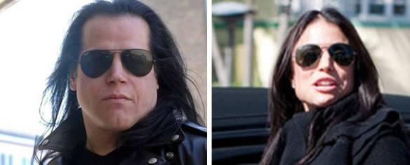 Image of Glenn Danzig and Bethenny Frankel