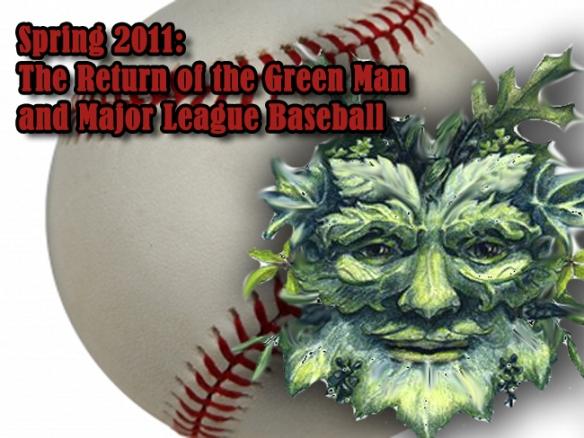 Image of the Green Man and Baseball