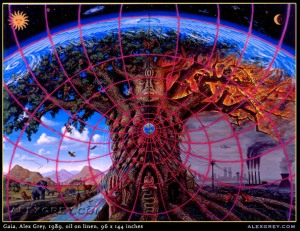 "Image of ""Gaia"" painting by Alex Grey"