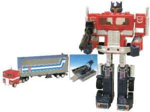 Image of Optimus Prime toy