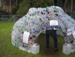 Image of sturdy plastic bottle igloo