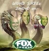 Image of Fox Sports World Series broadcast team