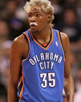 Image of Kevin Durant as Larry Bird