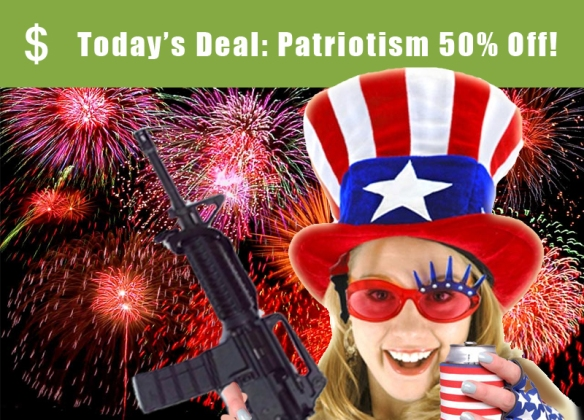 Image of Groupon for Half Off Patriotism for July 4th